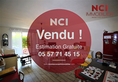 TEXT_PHOTO 0 - EN EXCLUSIVITE :  CREON : Appartement de type 3  avec jardin